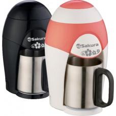 Кофеварка SA-6106WR 150мл круж