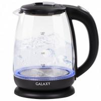Чайник Galaxy GL0554 электрический со стеклянной колбой, объем 1,8л, 2000Вт