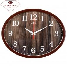 """2720-105 Часы настенные овал """"Структура Дерева"""""""