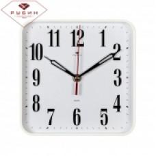 """2223-320 Часы настенные квадрат 22*22см, корпус серый """"Классика"""""""