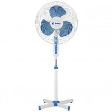 Вентилятор напольн DELTA DL-020N белый с синим