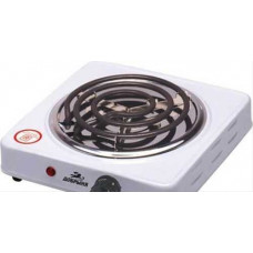 Плитка электрическая Добрыня DO-2202 (1 конф) белая спираль 1000Вт