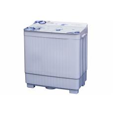 Стиральная машина OPTIMA MCП-50СТ, п/авт, стекл. крышка, стир./отж., 5,0кг/4,0кг, 1350 об./мин., насос, белое стекло, сиреневые цветы
