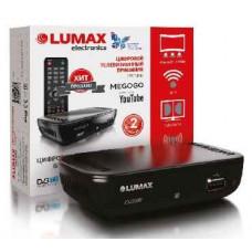 Ресивер цифровой LUMAX DV1110HD DVB-T2/WiFi/КИНОЗАЛ LUMAX (500 фильмов)/Doby Digital Plus