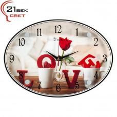 """2434-34 Часы настенные """"Love"""""""