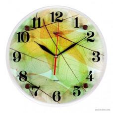 """3030-782 Часы настенные """"Листья"""""""