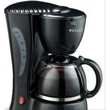 Кофеварка KELLI KL-1490 на 6 чашек