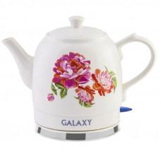Чайник Galaxy GL0503 электрический, объем 1,4л, керамический корпус, 1400Вт