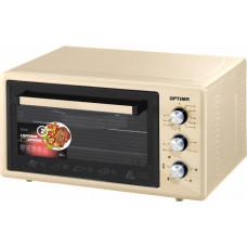 Духовка электр OPTIMA OF-48B 48л 1600Вт бежевый, таймер, лампа, противень 2шт