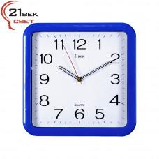 7667 BL Часы 21 век синие