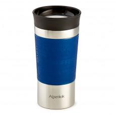 Термокружка вакуумная Alpenkok нерж АК-04038А синий 400мл