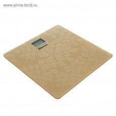 Весы напольн электр SA-5071FG 150кг золото