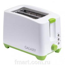 Тостер Galaxy GL2907, 800Вт, теплоизолированный корпус, регулятор времени приготовления