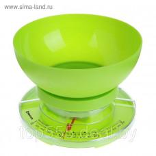 Весы кухон SA-6008GR 3кг механ зеленые