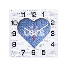 """2525-1233 Часы настенные """"Denim Style"""""""