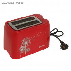 Тостер SA-7608R 750Вт подогрев красный