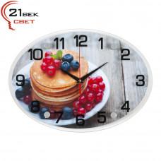 """2434-965 Часы настенные """"Летний завтрак"""""""