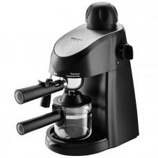 Кофеварка DELTA LUX DL-8150К черная рожковая 240мл